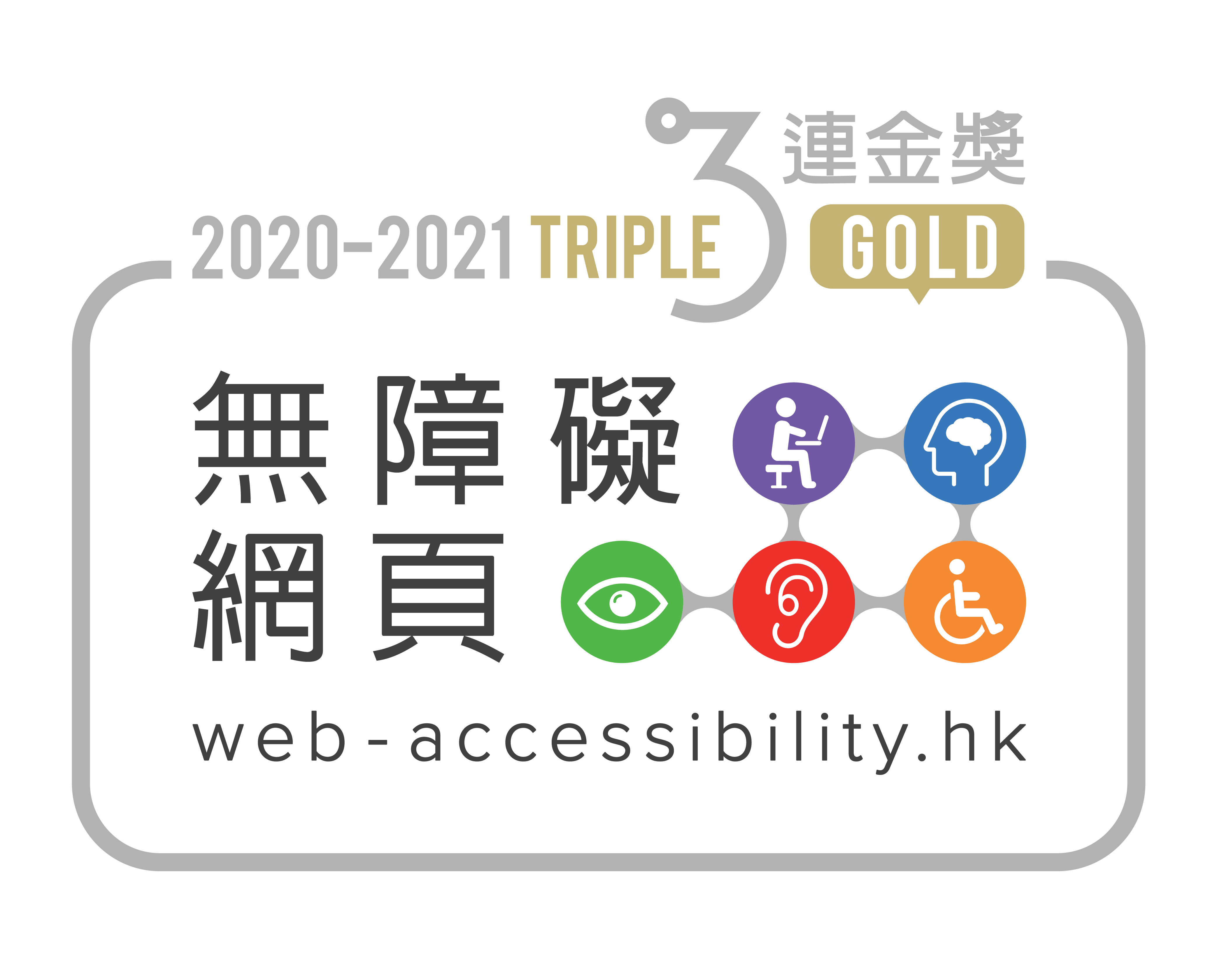 Web Accessibility 2020-2021 Triple Gold